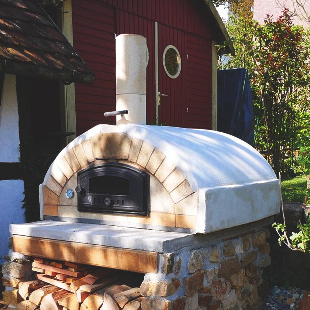 Pizzaofen-Bausätze im Schamotte-Shop.de
