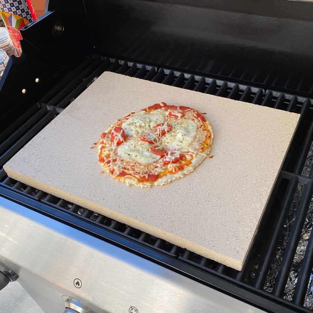Pizzastein Anleitung