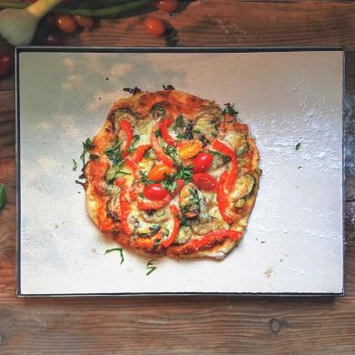 Pizzastein Schamotte