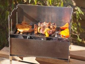 Blazebox BBQ - Mehr als nur Steckgrill
