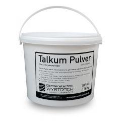 Talkumpulver 1,5kg, GTW Talkum Puder   schamotte-shop.de
