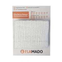 Dichtband flach keramisch 100x2mm 1m | Flamado | Schamotte-Shop.de