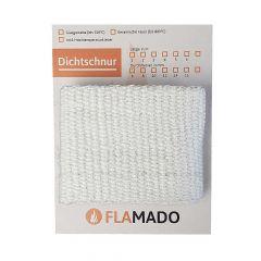 Dichtband flach keramisch 100x2mm 2m | Flamado | Schamotte-Shop.de
