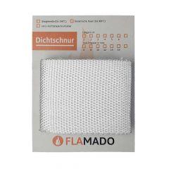 Dichtband flach Glasgewebe 100x2mm 3m | Flamado | Schamotte-Shop.de