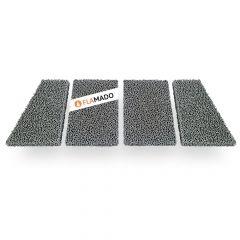 Feinstaub Rußfilter 547x213x25mm 4-teilig