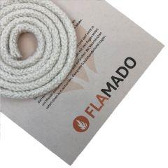 Ofendichtung keramisch für Ofentüre 14 mm / 2 m   Dichtschnur passend für Hark   Flamado   Schamotte-Shop.de