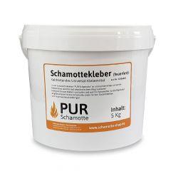 Schamottekleber | PUR Schamotte | Schamotte-Shop.de