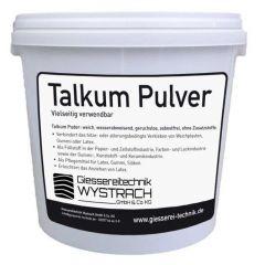Talkum Pulver 5kg   Rohstoffe   Giessereitechnik Wystrach   Schamotte-Shop.de