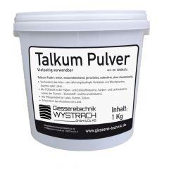 Talkum Pulver 1kg   Rohstoffe   Giessereitechnik Wystrach   Schamotte-Shop.de