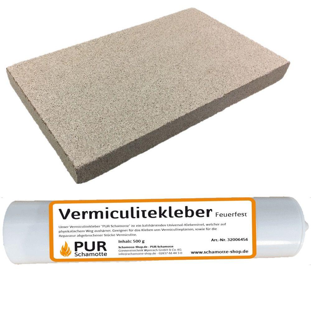 Vermiculite Platte 600x400x20mm 600KG//m/³