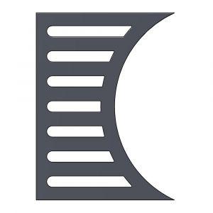 Kaminrost aus Stahl | Leda | Ascherost| Flamado| Schamotte-Shop.de
