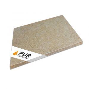 Cordierit Platte 300x300x20mm | Komplettansicht | Schamotte-Shop.de