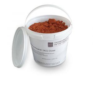 Formsand kaufen 1kg | Giessereibedarf | Giessereitechnik Wystrach | Schamotte-Shop.de