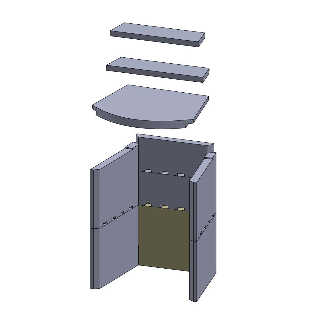 2er-Set in Geschenkbox Design Toscano Drachen-Kelche aus Zinn