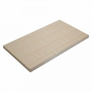 Vermiculite Platte Steinwandmuster| Brandschutzplatte | Flamado | Schamotte-Shop.de