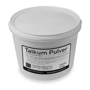 Talkum Pulver 5 kg | Rohstoffe | Giessereitechnik Wystrach | Schamotte-Shop.de