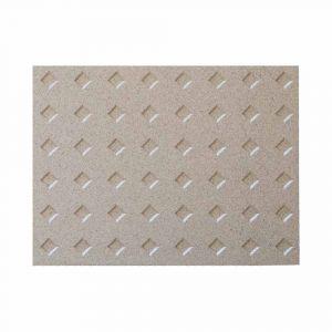 Vermiculite Platte 400x300x25mm Diamant Schamotte-Shop.de