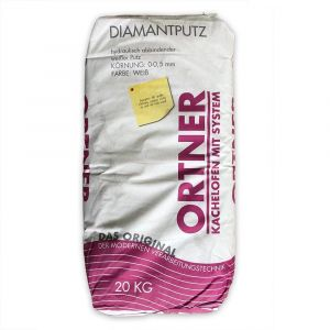 Ofenputz - Diamantputz - Körnung 0-0,5mm - 20kg
