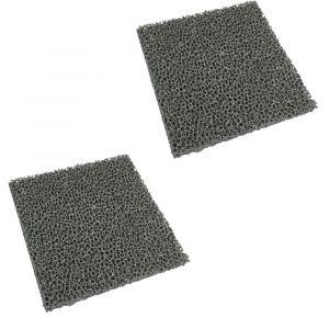 Feinstaub Rußfilter 155x120x18mm 2-teilig passend für Olsberg**