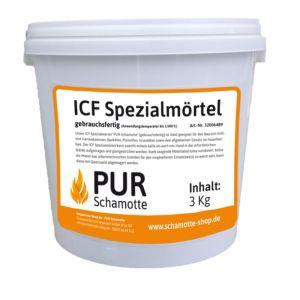 ICF-Mörtel - Schamottemörtel | PUR Schamotte | Schamotte-Shop.de