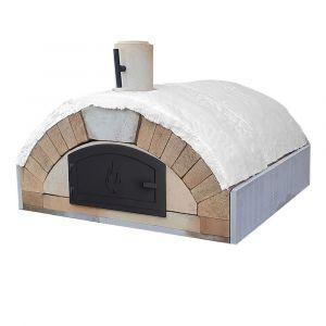 Pizzaofen Bausatz Merano Premium | Holzbackofen Steinbackofen | PUR Schamotte | Schamotte-Shop.de