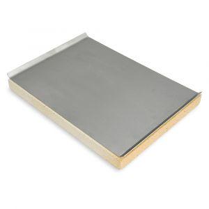 Pizzastein 40 x 30 x 3 cm mit Edelstahlblech passend für Weber**