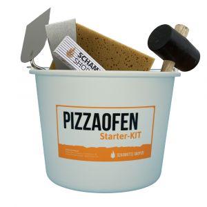 Werkzeug Pizzaofen-Starter-Kit 6-teilig | Gesamtansicht | PUR Schamotte | Schamotte-Shop.de