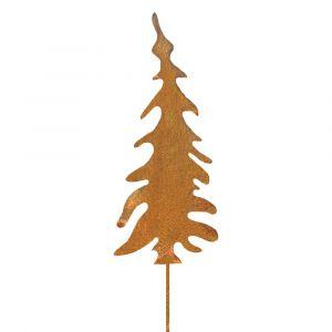 Weihnachtsdeko Trend für drinnen und draußen | Tannenbaum Weihnacht | Edelrostoptik