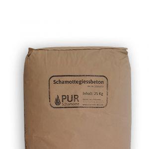 Schamottegiessbeton | PUR Schamotte | Schamotte-Shop.de