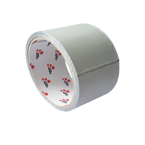 Aluminium Klebeband I silber I 50mm x 10m I 1 Rolle I Hochtemperatur Kleber I schwer entflammbar