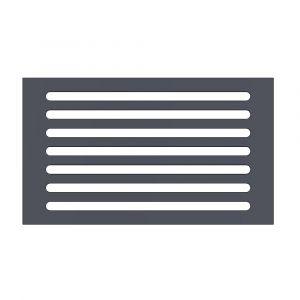 Kaminrost aus Stahl | Caminos | Ascherost| Flamado | Schamotte-Shop.de