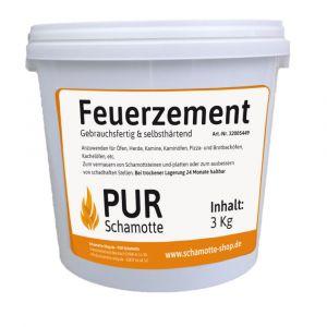 Feuerzement | PUR Schamotte | Schamotte-Shop.de