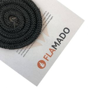 Ofendichtung / Dichtschnur 10mm | Flamado | Schamotte-Shop.de