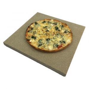 Pizzastein 350x350 | lebensmittelecht | PUR Schamotte | Schamotte-Shop.de