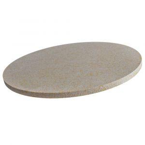 Profi Pizzastein rund Ø 290x10mm aus Cordierit | lebensmittelecht | Schamotte-Shop.de