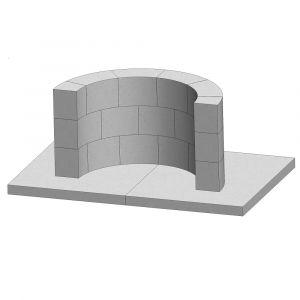 Grillplatz Bausatz - Mediteran