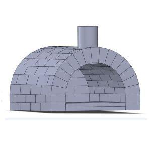 Pizzaofen Bausatz - Toskana