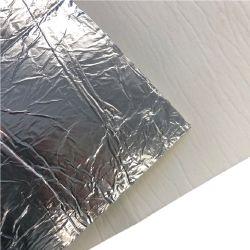 Hitzeschutz - Keramikfasermatte mit Alubeschichtung 500x300x5mm