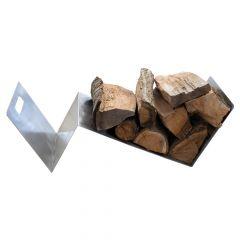 Holzlager / Feuerholzregal Shelf » aus Edelstahl