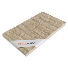 Vermiculite Platte Sandsteinoptik| Brandschutzplatte | Flamado | Schamotte-Shop.de
