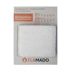 Dichtband flach Glasgewebe 100x2mm x 1m | Flamado | Schamotte-Shop.de