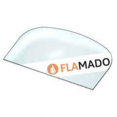 Kaminscheibe 460x264x4mm Glaskeramik passend für Globe Fire** Kamine | günstig | schamotte-shop.de