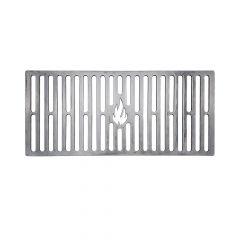 Grillrost 41,5 x 18,5 cm passend für Burnhard**  aus Stahl für BBQ und Grill