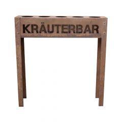 Edelrost Kräuterbar Nostalgie » Schamotte-Shop.de