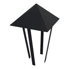 Abdeckung für Rohr Ø 140 mm für Pizzaofen in  schwarz