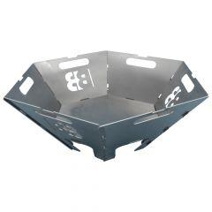 BlazeBox Bowl 6-eckig Mini Feuerschale » Stecken & loslegen