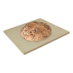 Brotbackstein 40 x 40 x 2 cm Keramik Backstein | lebensmittelecht | PUR Schamotte | Schamotte-Shop.de
