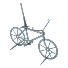 Gockel-Fahrrad aus Edelstahl » rostfrei