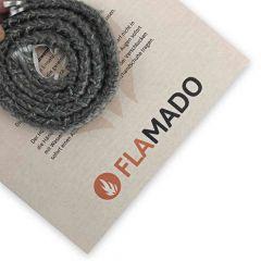 Dichtschnur flach 9x4mm  1m selbstklebend  Flamado