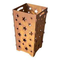 Edelrost Feuertonne Stars » Schamotte-Shop.de